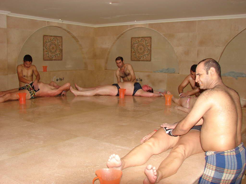 Секс в турецской бани